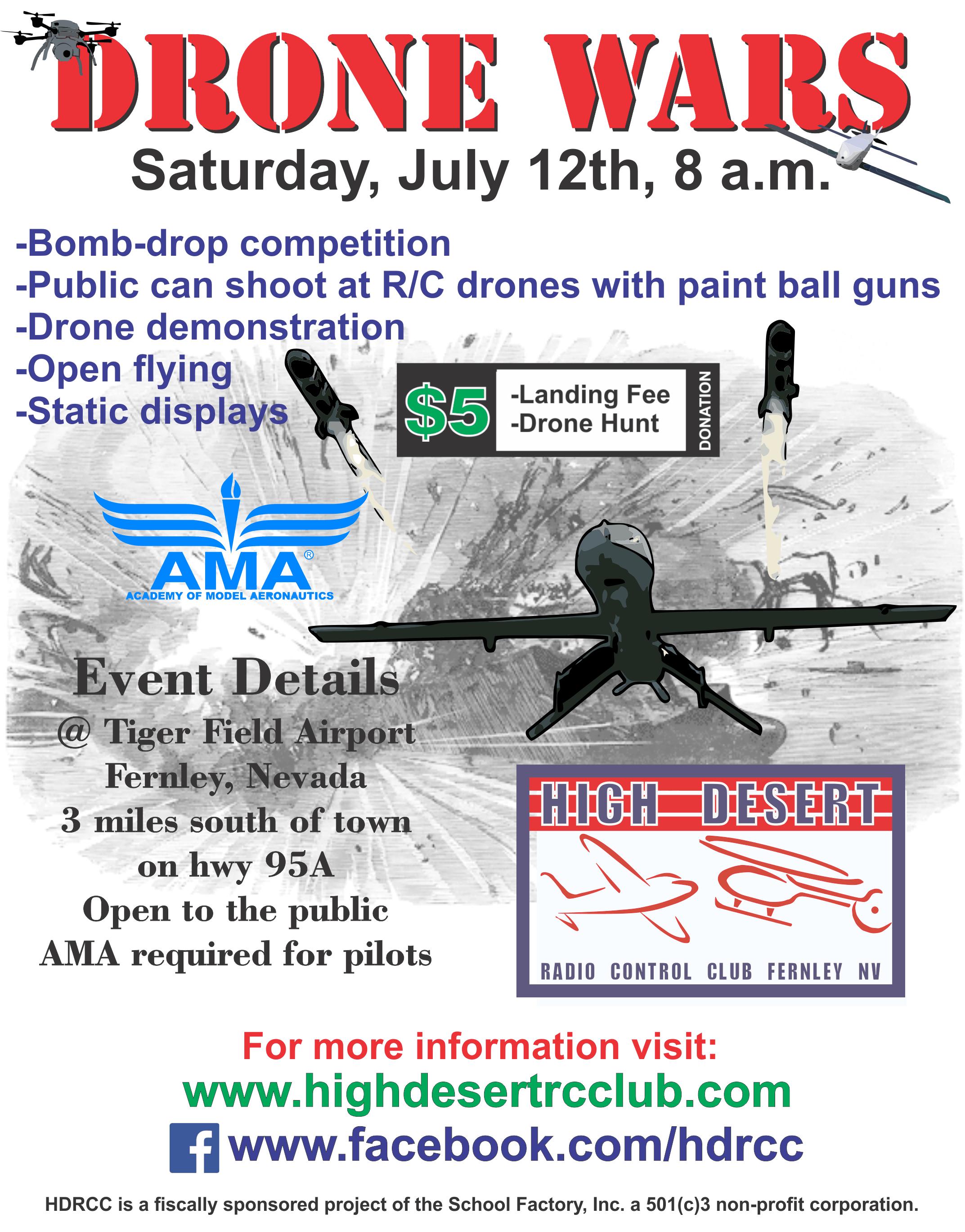 HDRCC Drone Wars v3