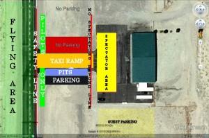 Fernley High Desert RC Club Field Layout